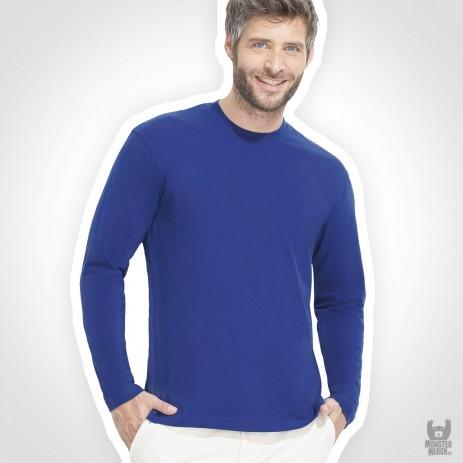 Sol´s Langarm Band T-Shirt Monarch