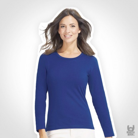 Sol´s Womens Band Long Sleeves-T Majestic