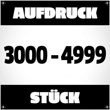 Textildruck von 3000 bis 4999 Stück