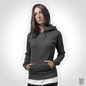Build Your Brand Ladies Heavy Hoody