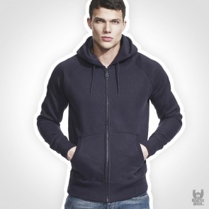 Continental Clothing Men´s Zip-Through Hooded