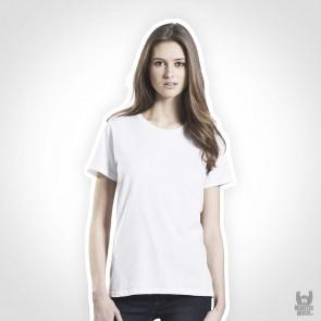 Earth Positive Womens Organic Band T-Shirt - aus 100% Bio-Baumwolle