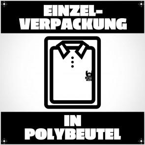 Einzelverpackung im Polybeutel