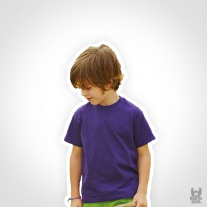 Fruit of the Loom Kids Valueweight Band T-Shirt