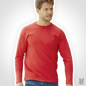 Fruit of the Loom Valueweight Band Long Sleeve T